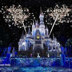 A Frozen Holiday Wish concept art