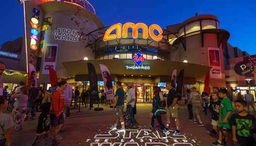 AMC Downtown Disney showing 'DOCTOR WHO The Day of the Doctor' in 3D for one day only