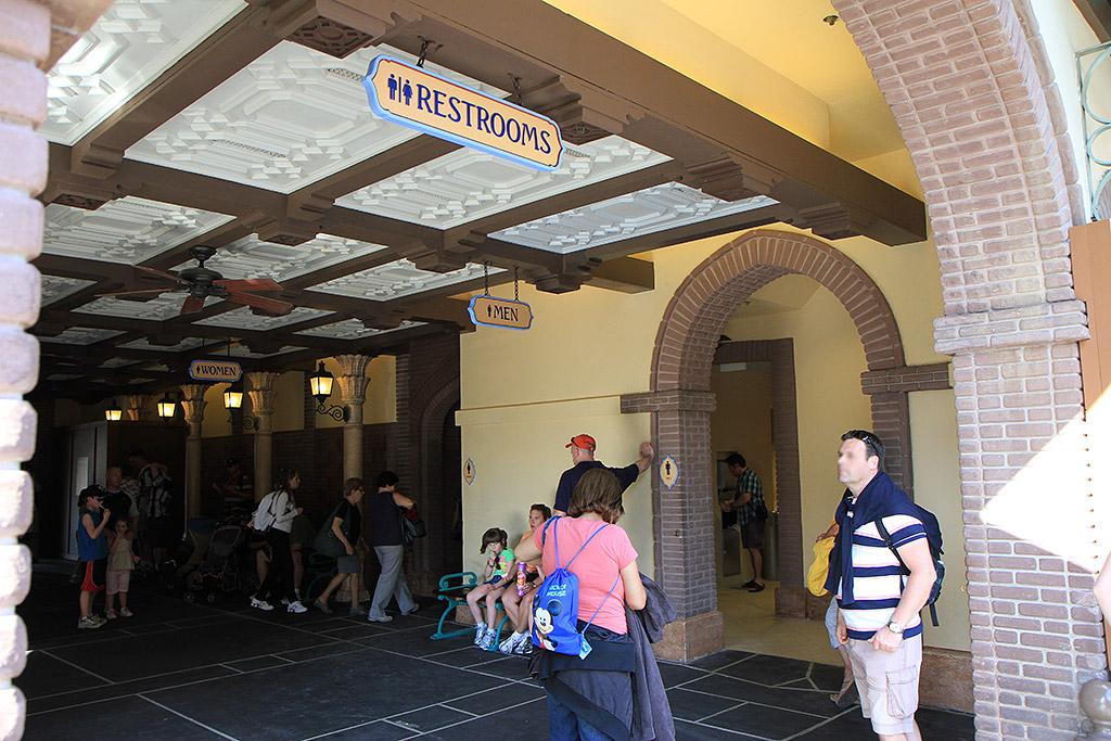 Adventureland restrooms refurbishment