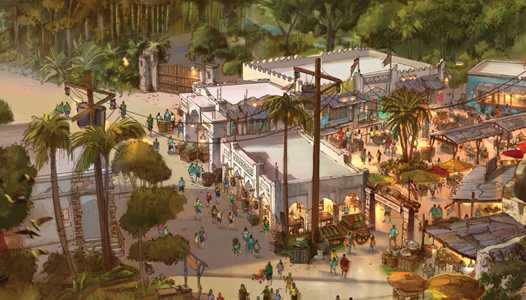 PHOTO - New concept art reveals details of the Africa Marketplace expansion coming to Harambe at Disney's Animal Kingdom