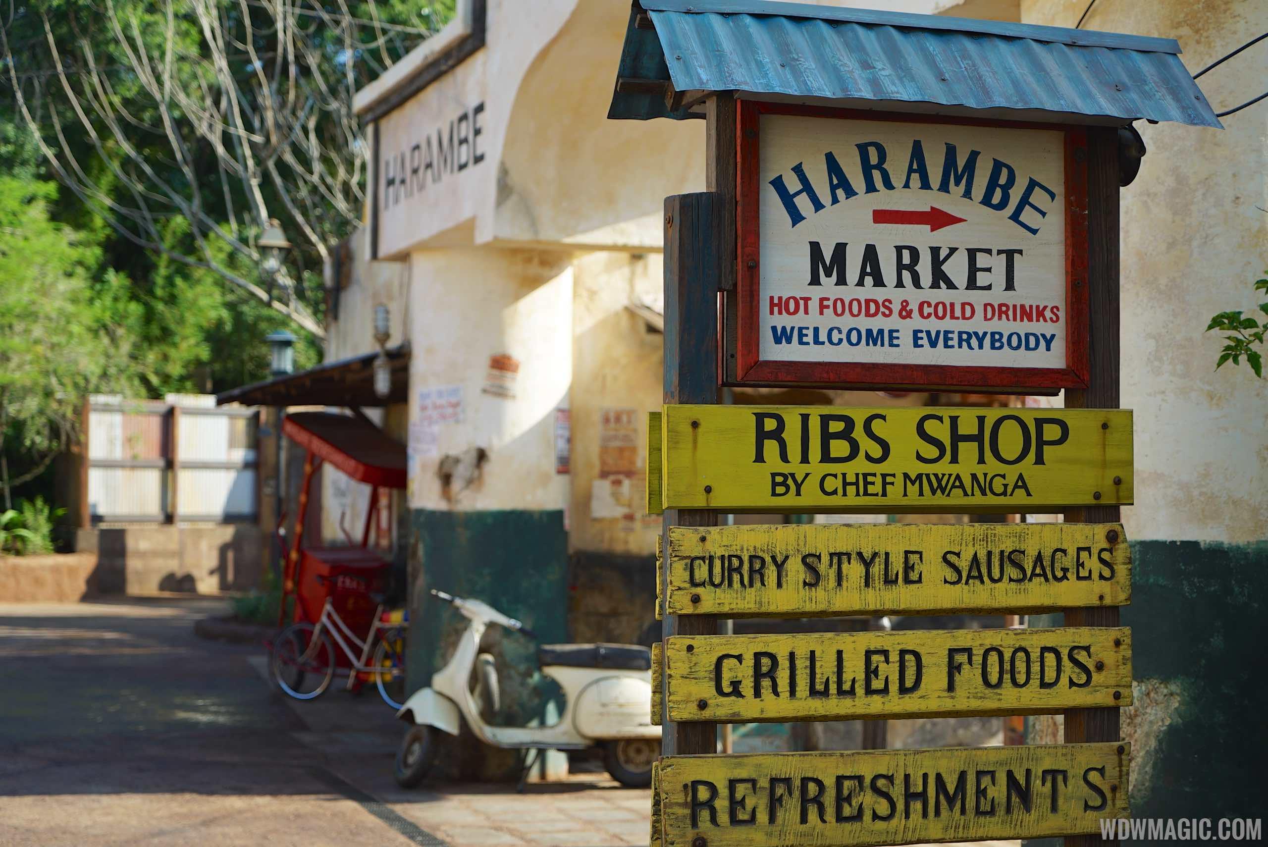Harambe Market - Harambe Market signage