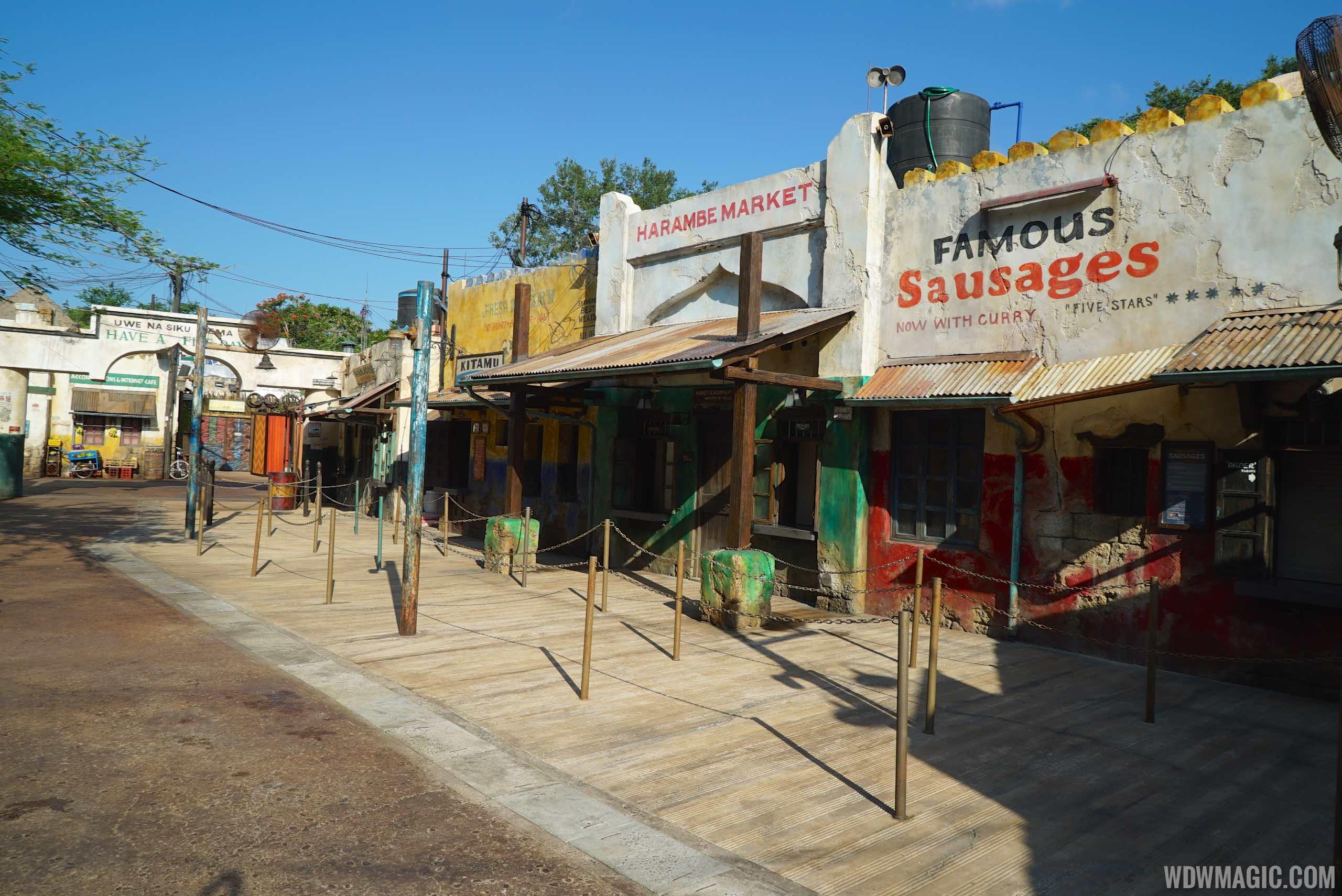 Harambe Market - The walkup windows