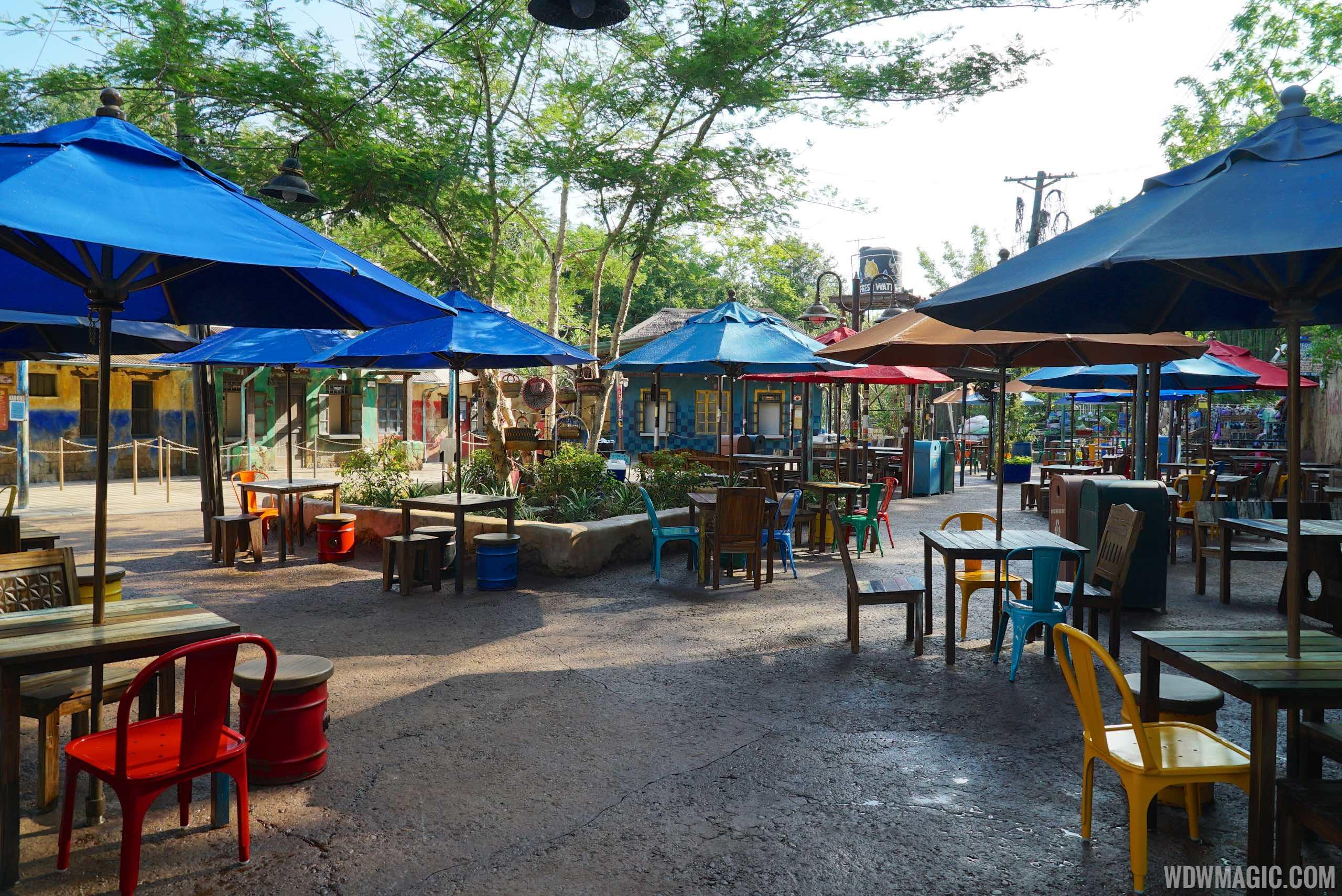Harambe Market - Dining area