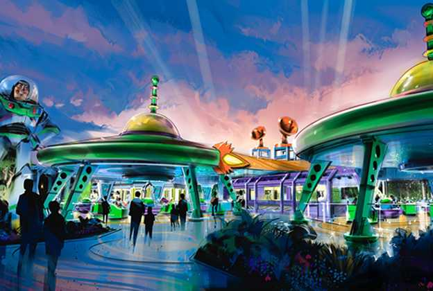 Alien Swirling Saucers overview