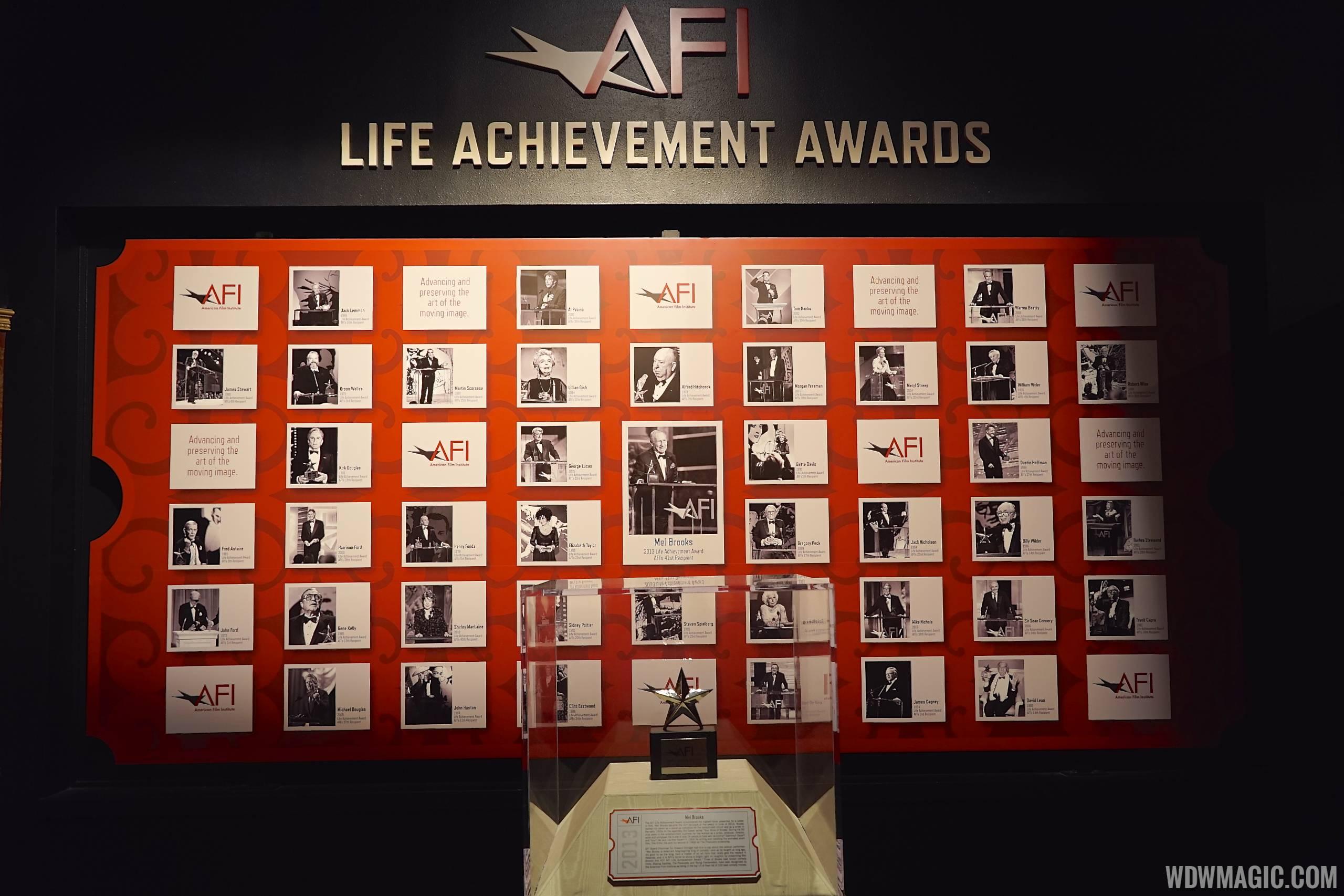 American Film Institute exhibit