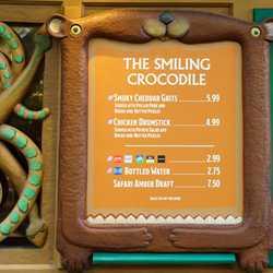 New look snack kiosks at Disney's Animal Kingdom