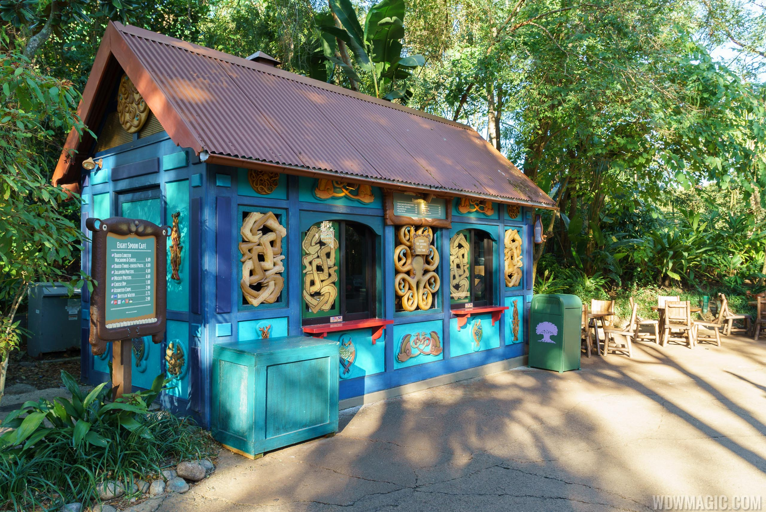 PHOTOS - New names and looks for snack kiosks at Disney's Animal Kingdom