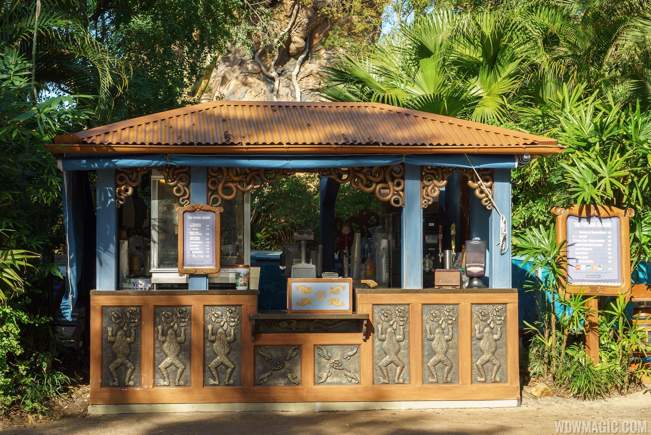 The Feeding Ground kiosk