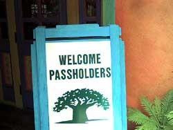 New Animal Kingdom Annual Passholder lounge