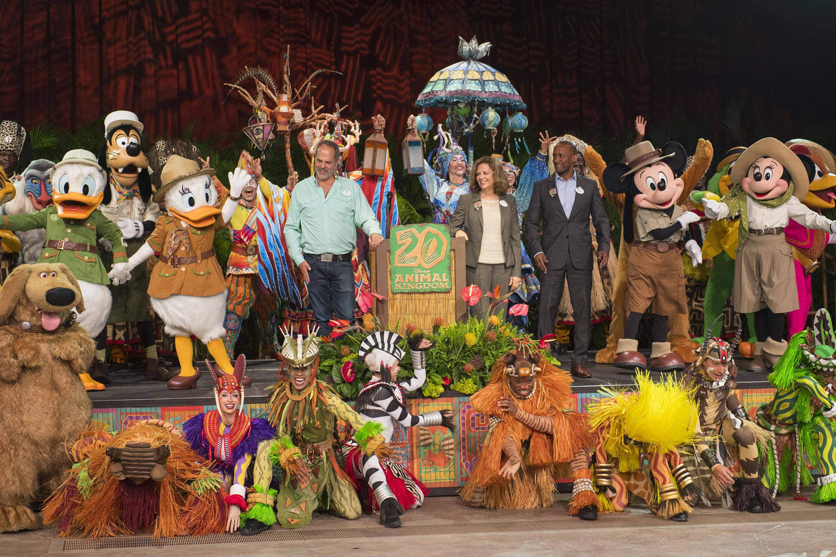 Disney's Animal Kingdom 20th Anniversary
