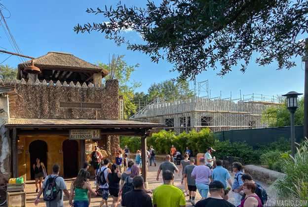 Club 33 Lounge construction at Disney's Animal Kingdom - September 2019