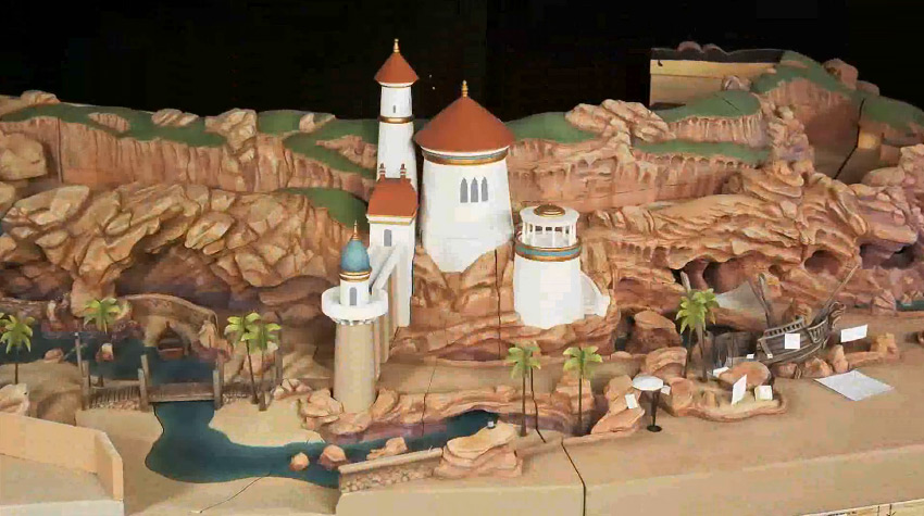 Under the Sea - Journey of the Little Mermaid concept art and models