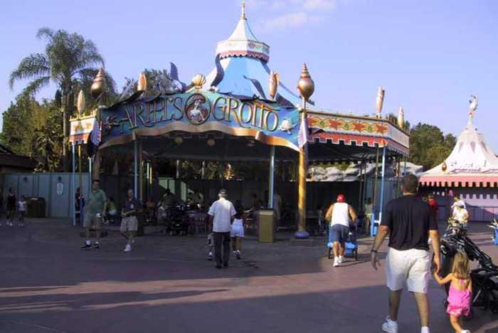 Ariels Grotto refurbishment
