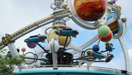 Astro Orbiter closed for refurbishment