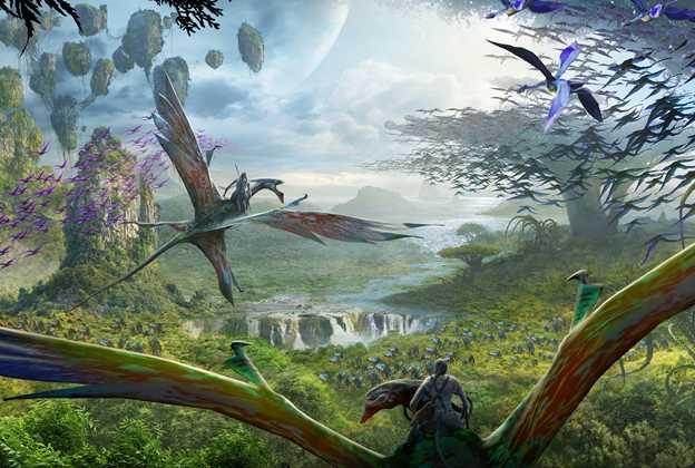 Avatar Flight of Passage concept art