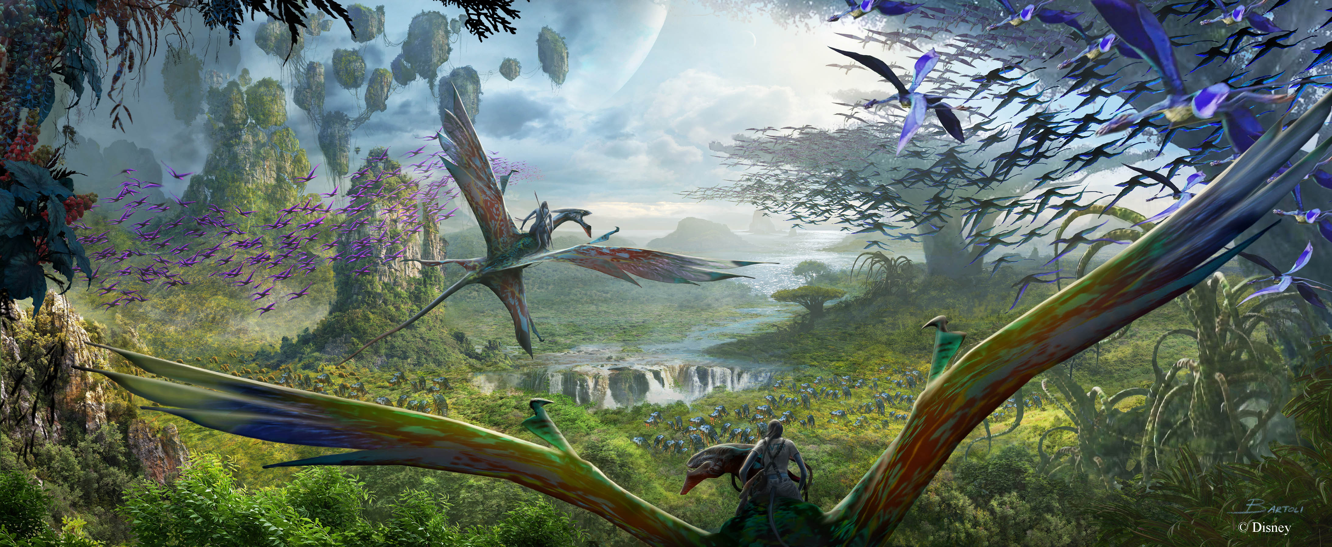 Avatar Flight of Passage concept art