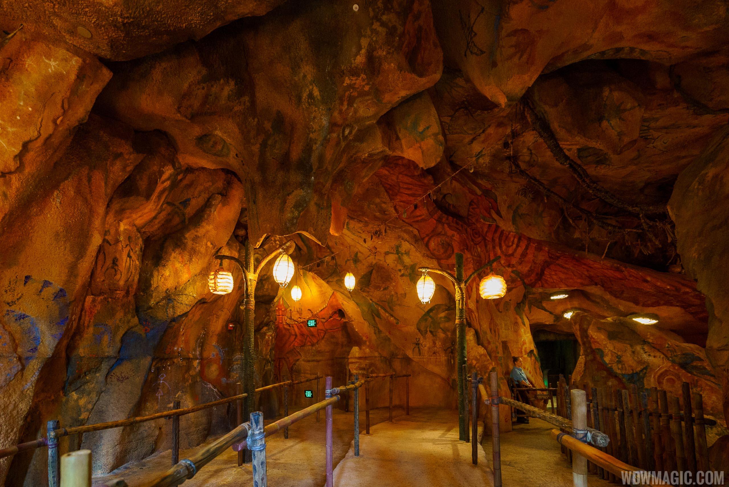 Avatar Flight of Passage caves