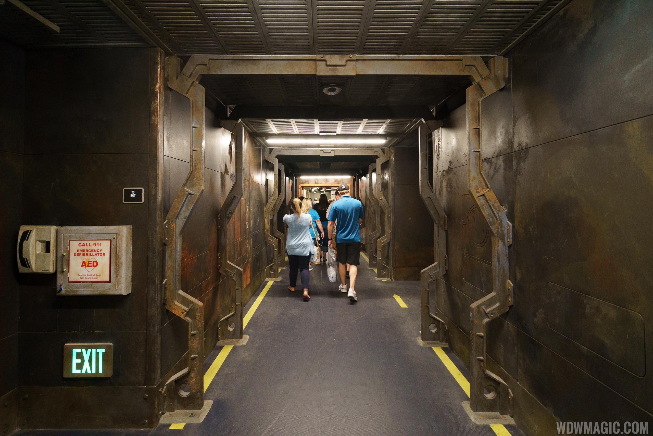 Avatar Flight of Passage - Exit corridor