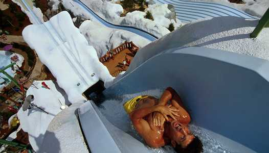 Blizzard Beach cold weather closure extended into the weekend