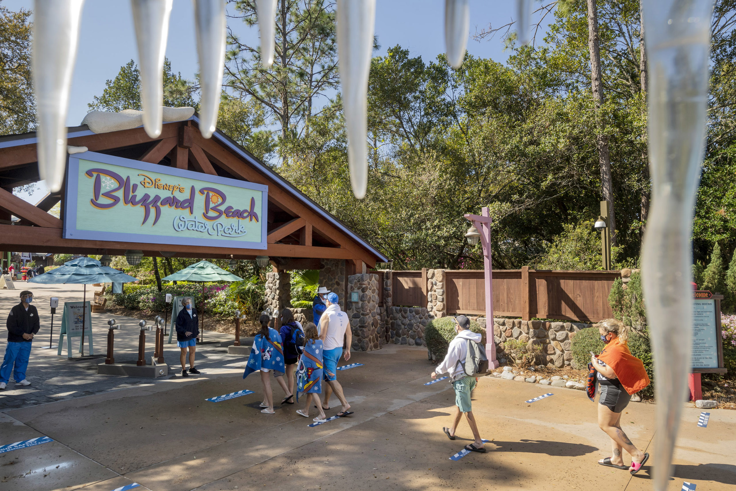 Blizzard Beach reopening from COVID shutdown