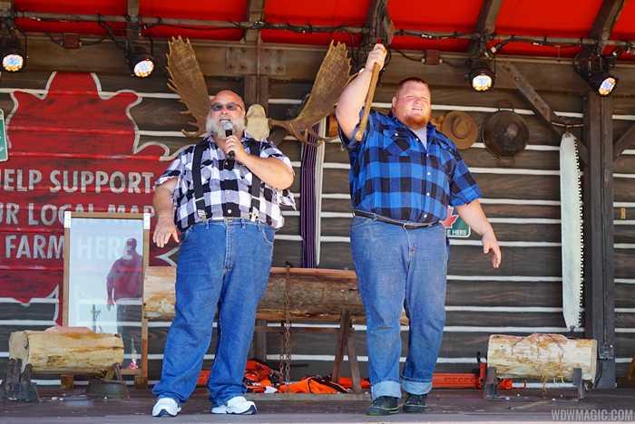 Canadian Lumberjacks opening day performance