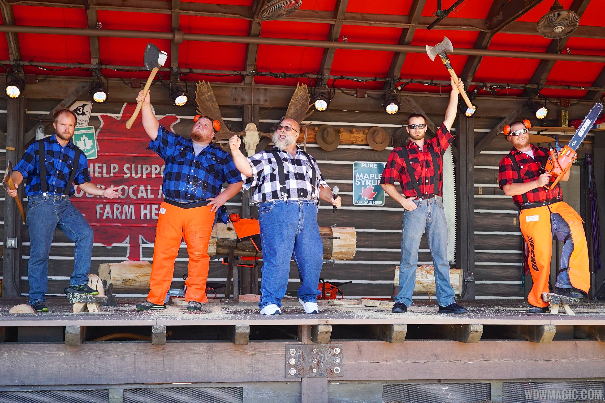 Canadian Lumberjacks opening day performance