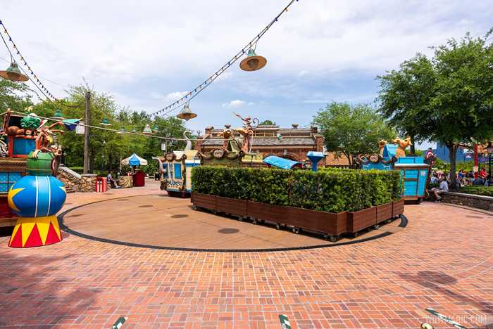 Casey Jr Splash n Soak Station refurbishment - April 2021