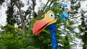 VIDEO - Kevin arrives at Disney's Animal Kingdom