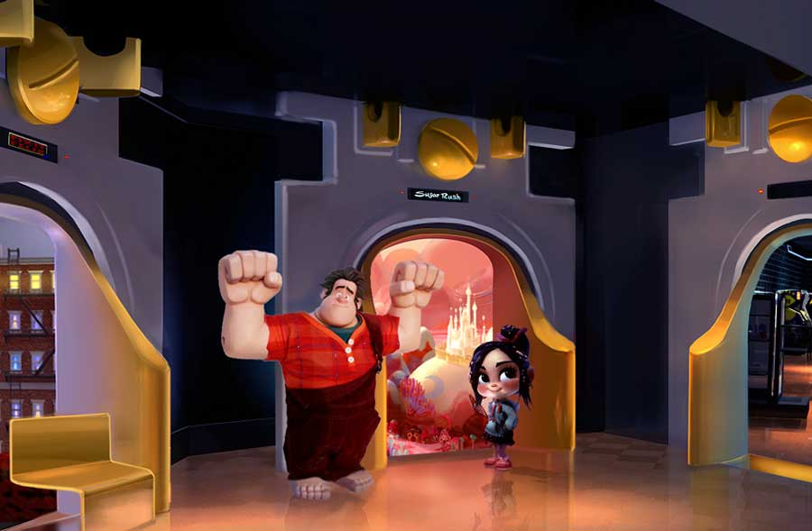 'Wreck-It Ralph' meet and greet concept art
