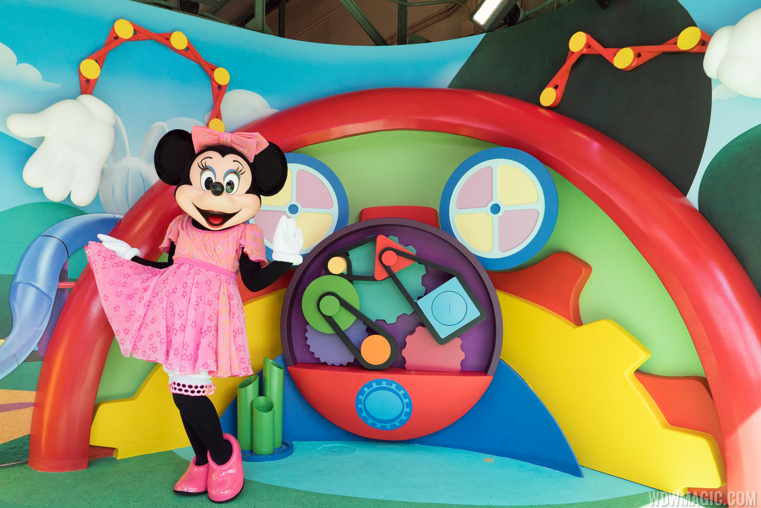 Disney Junior Minnie Mouse meet and greet