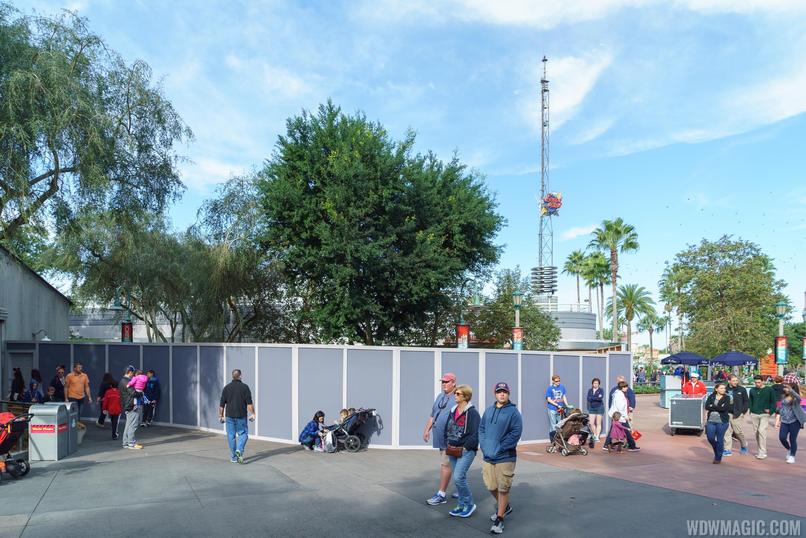 Meet and greet construction near Star Tours