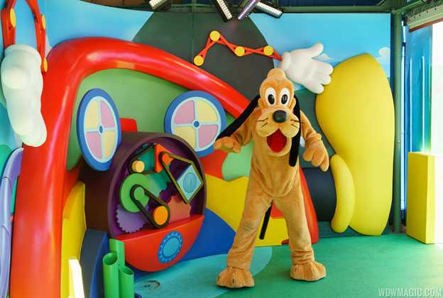 Disney Junior Pluto meet and greet