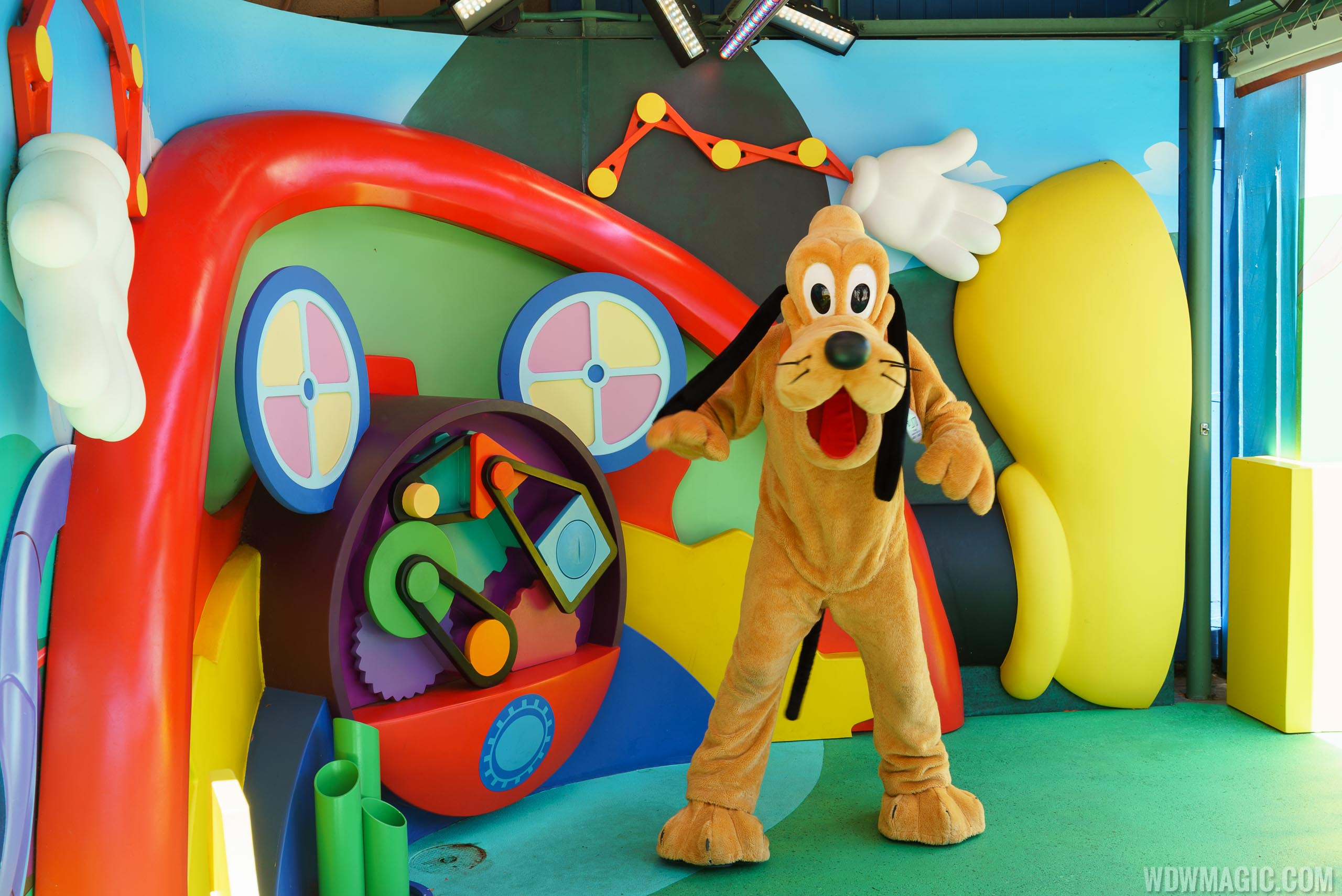Photos pluto now appearing at the disney junior meet and greet photos pluto now appearing at the disney junior meet and greet in disneys hollywood studios kristyandbryce Choice Image