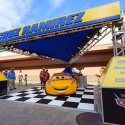 Cars 3 Cruz Ramirez meet and greet
