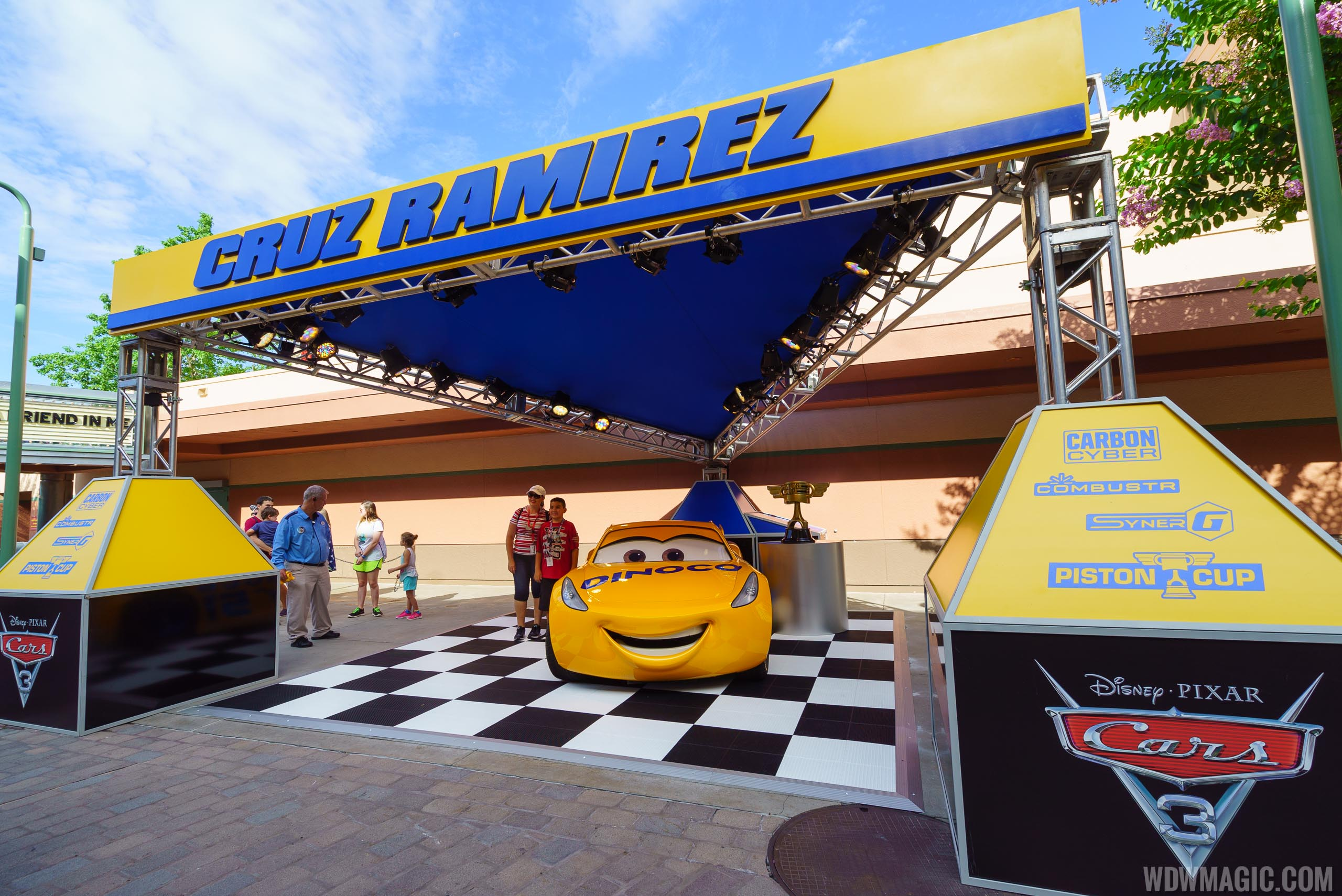 b8bf95601006 Lightning McQueen s Racing Academy is planned to open early 2019 at Disney s  Hollywood Studios. Cruz Ramirez previously had a meet and greet in Pixar  place