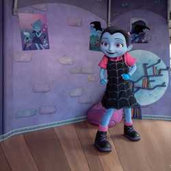 Vampirina meet and greet at Disney's Hollywood Studios
