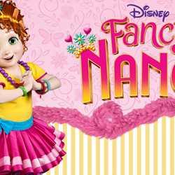 Fancy Nancy meet and greet concept art