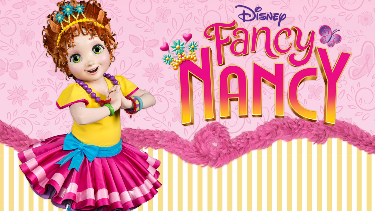 Fancy Nancy meet and greet concept art