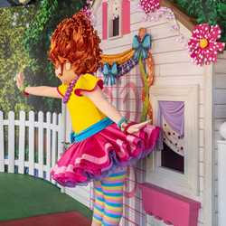 Fancy Nancy character meet and greet at Disney's Hollywood Studios