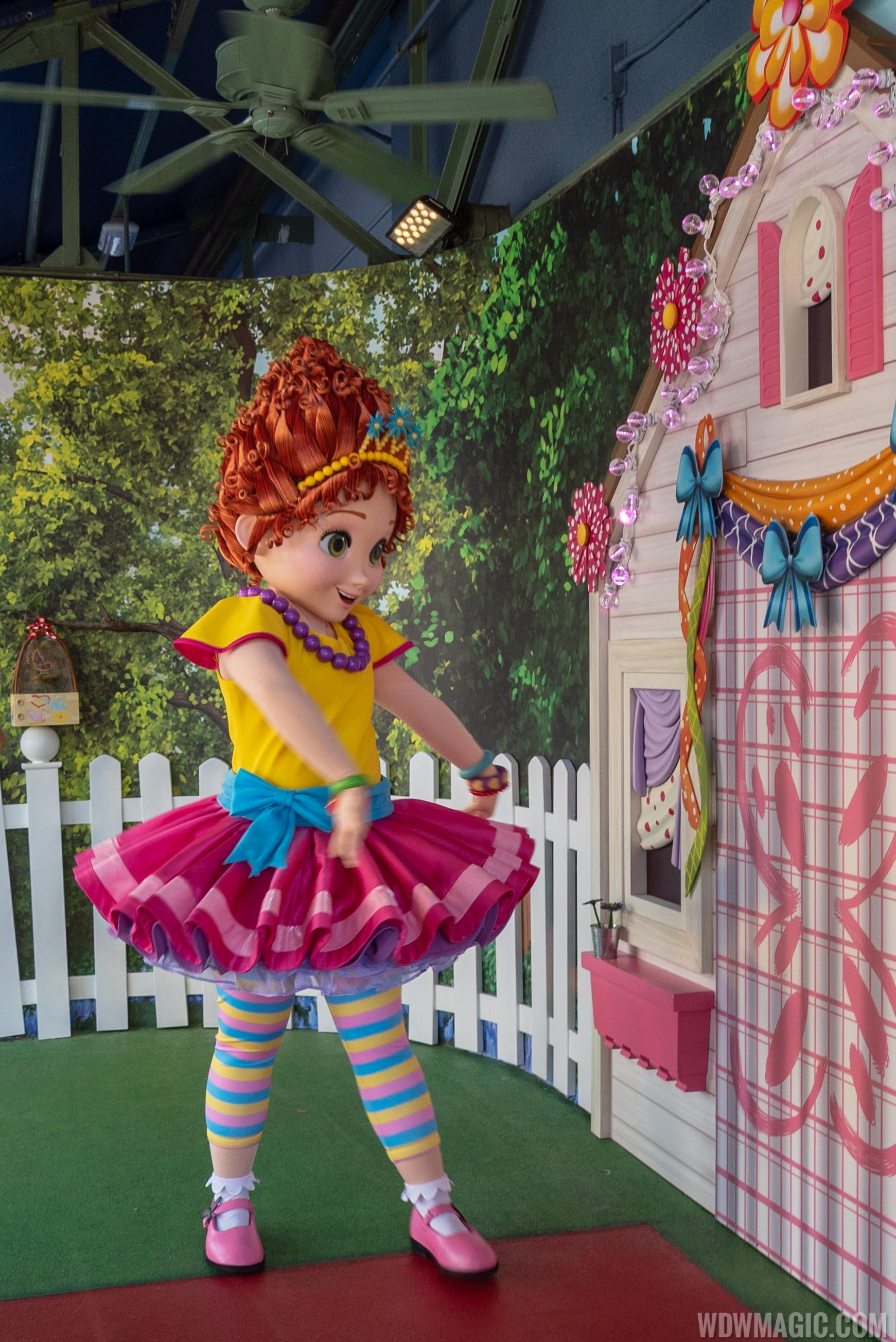 Fancy Nancy character meet and greet at Disney's Hollywood Studios