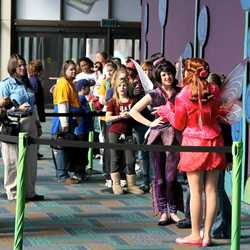 Fairies meet and greet temporary location