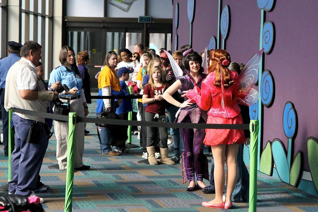 Fairies meet and greet temporary location