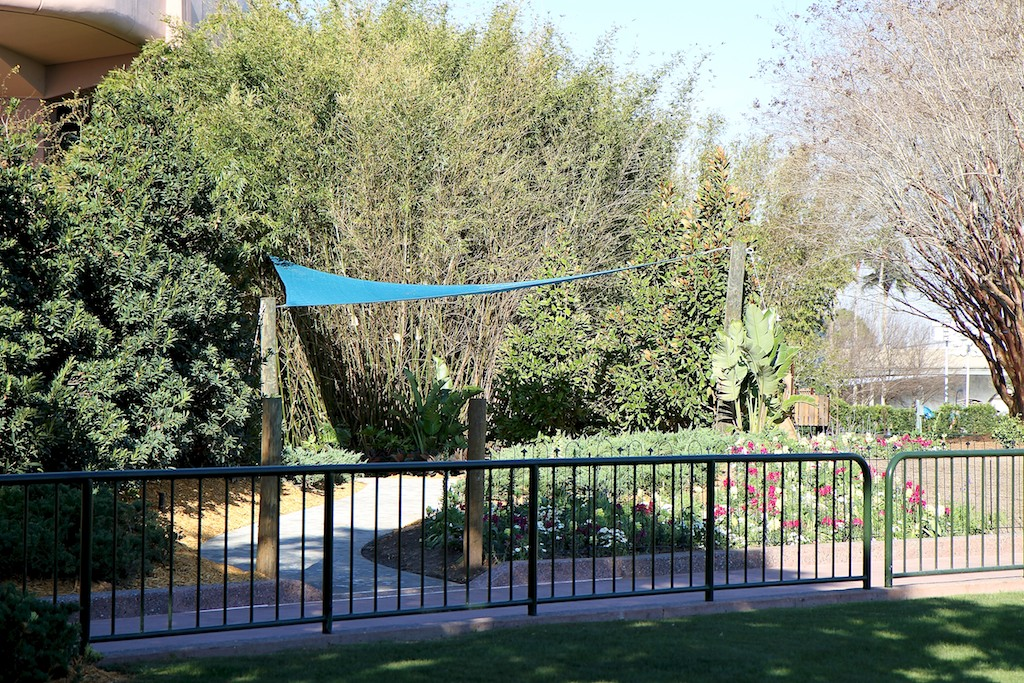 Fairies meet and greet garden construction