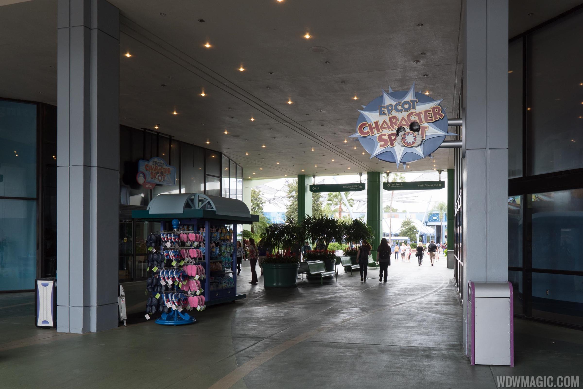 Disney visa character meet and greet moves location at epcot m4hsunfo