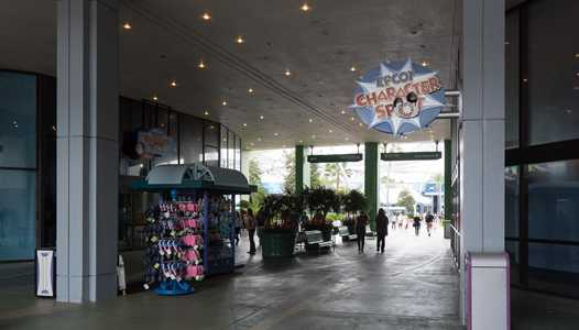 Wreck-It Ralph and Vanellope meet and greet now located inside Imagination Pavilion