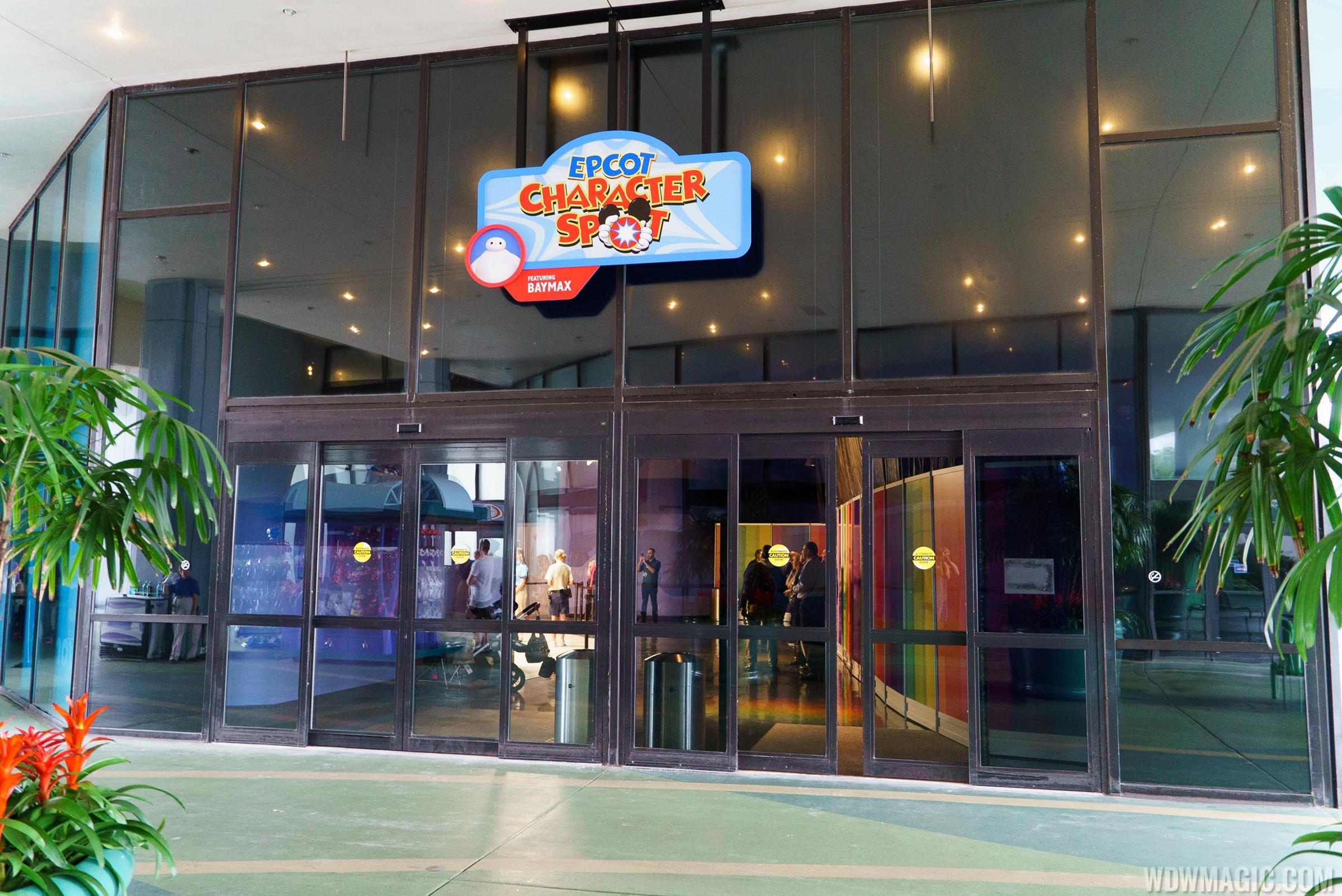 Disney visa character meet and greet moves location at epcot m4hsunfo Choice Image