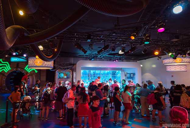Wreck-It Ralph and Vanellope meet and greet at the Imagination Pavilion