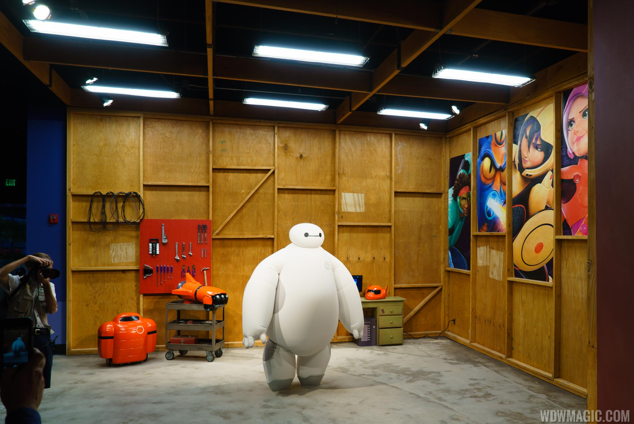 The recently opened BAYMAX meet and greet