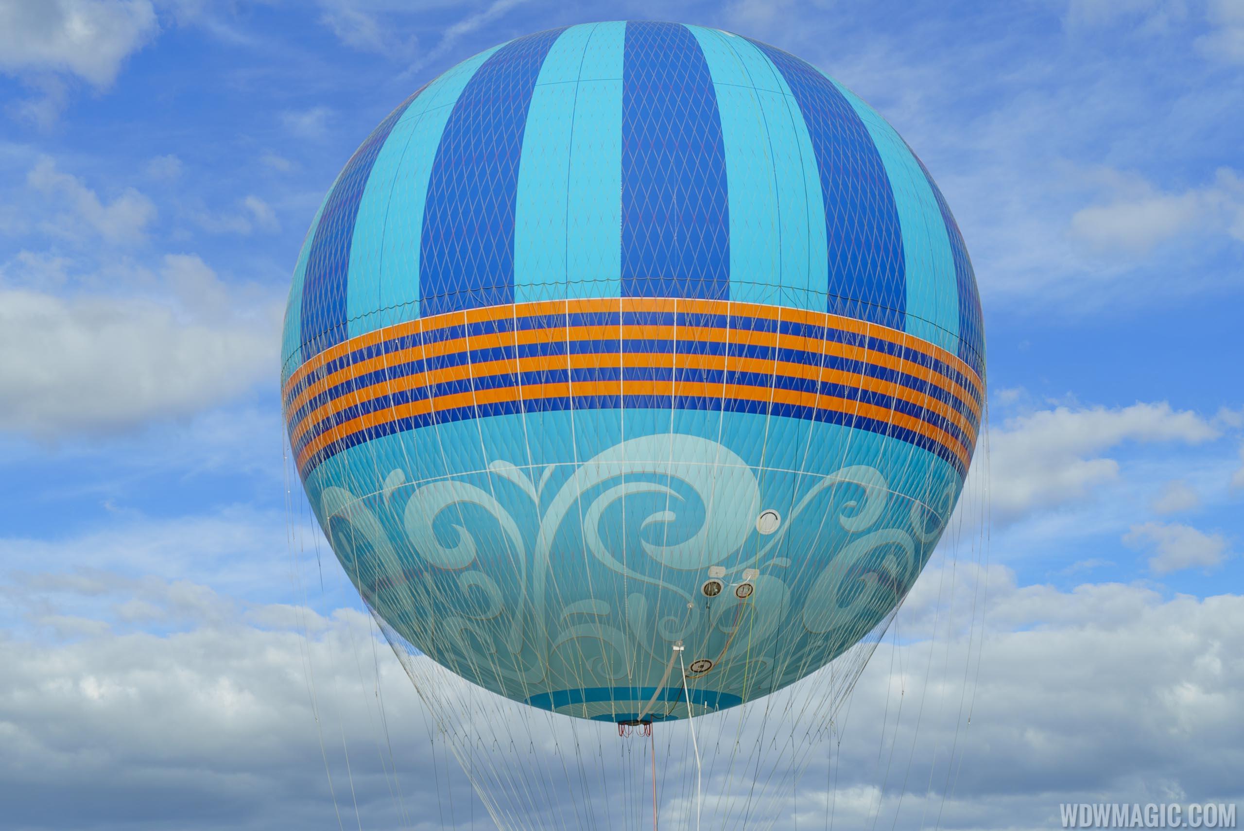 New look Characters in Flight balloon
