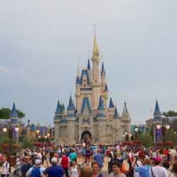New Cinderella Castle turrets